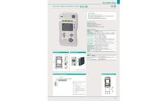 Minerva - Model KS-7D - Low Cost Carbon Monoxide Detector  Brochure