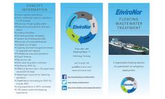 EnviroNor Changemaker - Floating Wastewater Treatment Vessel Brochure