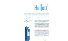 Hallet - Model 30 NSF/ANSI 55 Class A - Community and Commercial UV Drinking Water Purification Systems - Brochure