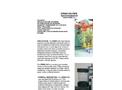 Hydrodyne - Model PEMO-7LE - Strap -On Water Pipe Radiation Monitor - Brochure