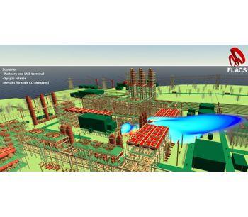 FLACS (FLame ACceleration Simulator)-1