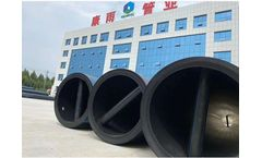 Kangyu - Model 710mm PE100 - HDPE Pipe for Water Project