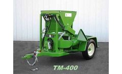 D & M - Model TM-400 - Tow and Tote Master Vineyard Dusters