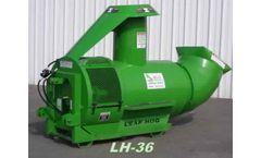 D&M - Model LH-36 - Vineyard Leafing Machine