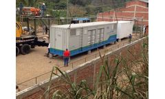 Jiarong case study - Colombia Wastewater Treatment Leachate Treatment Project