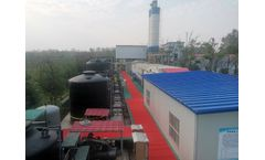 Hunan Changsha Landfill leachate treatment ZLD project