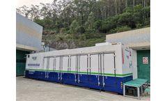 Guangzhou leachate treatment project