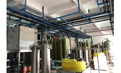 Fly ash washing wastewater+ Leachate Concentrate Treatment Project