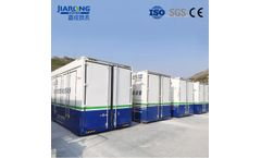Jiarong - Containerized  Industrial Wastewater Leachate Treatment Equipment