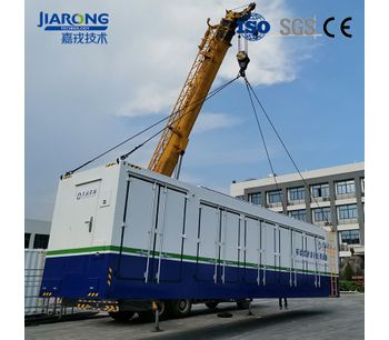 Containerized  Industrial Wastewater Leachate Treatment Equipments-3