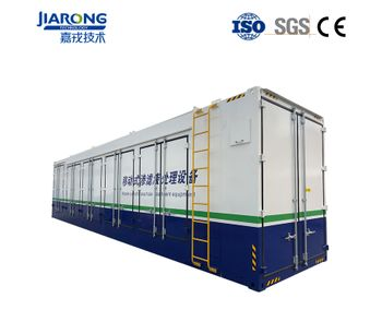 Containerized  Industrial Wastewater Leachate Treatment Equipments-4
