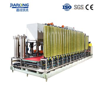 Jiarong - Model 100T - Customized Design DTRO Industrial Wastewater Leachate Treatment Equipment