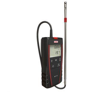 Sauermann Kimo - Model VT110 - VT115 - Medidor Portatil de velocidad de aire, flujo y temperatura con sonda de hilo caliente.