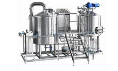 Huanrun - Model 100L - Brewing Equipment Micro Brewery Designs Brewhouse