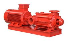 Sincov - Model D series - High Pressure Multistage Pump