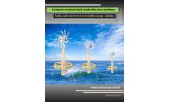 Compact vortical wind /umbrella wave turbines - Brochure