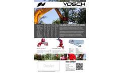 Van Osch - Recycling Sorting Grapple (RSG) Brochure
