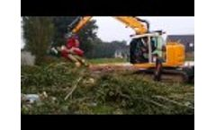 VOSCH RSG Recycling Sortinggrapples + dismountable saw units for .404 pitch Video