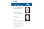 Airel - Model NAIS - Neutral Cluster and Air Ion Spectrometer Brochure