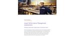 AVEVA - Asset Performance Management Assessment Software (APM) Brochure