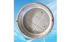 Yete - Model YT650-130COV - Stainless Steel Plant Grass Manhole Cover