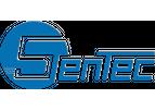 SENTEC - Model SEM404 - High quality ABS shell tipping bucket rain gauge