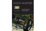GoldHunter - Model VLF - Treasure Gold Metal Detector - Manual