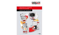 Carbolite Gero - Model Apex AX - Laboratory Ovens Brochure