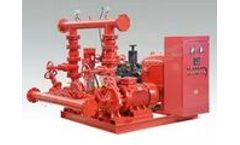 Sinco - Model XBC/XBD/EDJ - Fire Fighting Centrifugal Water Pump