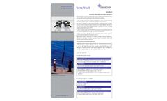 Develogic - Model Sono.Vault - Acoustic Recorder and Signal Analyzer Brochure