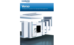 Verso - Model S1 SE - Automated Sample and Compound Management System Brochure