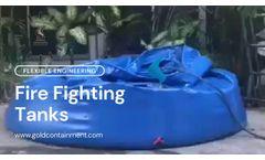5000L Onion Tank Flexible Water Reservoir for Thailand Customer - Video