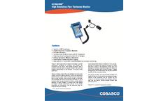 Cosasco - Non-Intrusive Underground Pipe Thickness Monitor Brochure