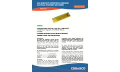 Cosasco - Model 610 - Atmospheric (ER) Corrosion Sensor Brochure