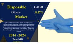Impact of Covid-19 on Disposable Gloves Market projected a CAGR of 8.57% during the forecast period of 2019-2024 |Fast. MR