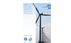 World Water Week 2014 Call for Abstracts Event Proposals - Brochure