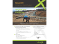 Nexus - Model 800 - LiDAR / Photogrammetry Unmanned Aerial System Brochure