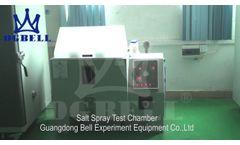Salt Spray Test Chamber - Video