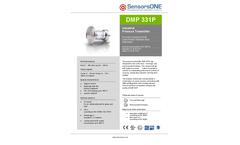 Model DMP331P - Hygienic Flush Pressure Transmitter Brochure