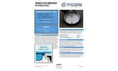 Rainstopper - Model SS- EL - Stainless Steel Insert With Gasket - Brochure