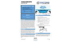Rainstopper - Model SS - Stainless Steel Manhole Insert with Tetherlok - Brochure
