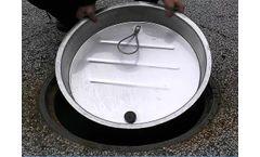 Rainstopper - Model SS - Stainless Steel Manhole Insert with Tetherlok
