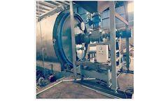 Kebos - Model XL-9 - Waste Sludge Oil Pyrolysis Plant