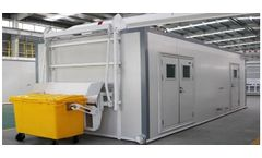 Kebos - Model 2020 - Mobile Microwave Disinfection Equipment