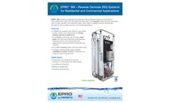 EPRO - Model SW - RO System  Brochure