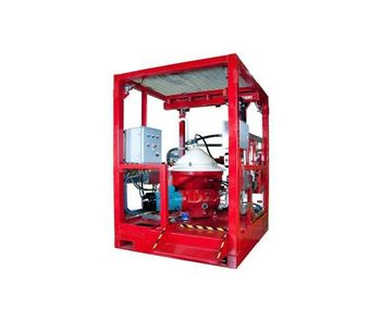 Osso - Model HSWS 14000 - High Speed Water Separator