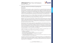 xCELLigence - Model RTCA DP - Dual Purpose Real Time Cell Analyzer Brochure
