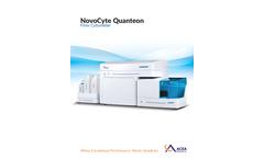 NovoCyte Quanteon - Flow Cytometry Automation Cytometer Brochure