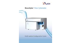 NovoCyte - High Performance Benchtop Flow Cytometer Brochure
