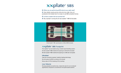 xxplates - Model SBS - Thermal Cycler Consumable - Brochure